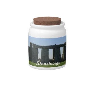 Stonehenge Candy Jar