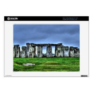 Stonehenge Celtic Standing Stones in Britain Acer Chromebook Decal