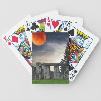 Stonehenge Celtic Standing Stones in Britain Bicycle Playing Cards