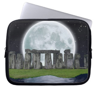 Stonehenge Celtic Standing Stones in Britain Computer Sleeve