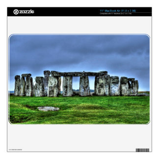 Stonehenge Celtic Standing Stones in Britain Skin For The MacBook