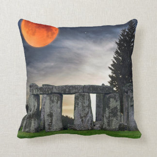 Stonehenge Celtic Standing Stones in Britain Throw Pillow