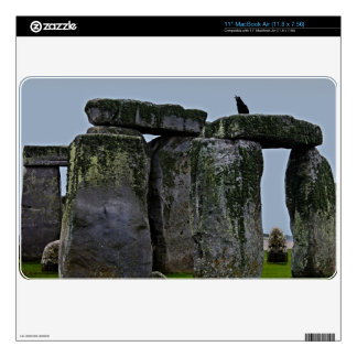 Stonehenge Celtic Standing Stones & Rook Skins For The MacBook Air