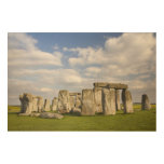 Stonehenge (circa 2500 A.C.), mundo 2 de la UNESCO Impresión En Madera