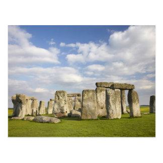 Stonehenge (circa 2500 A.C.), mundo 2 de la UNESCO Postales