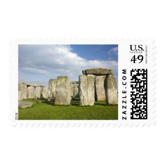 Stonehenge (circa 2500 A.C.), mundo 3 de la UNESCO Sello