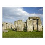 Stonehenge (circa 2500 A.C.), mundo 3 de la UNESCO Tarjeta Postal
