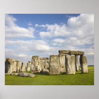 Stonehenge (circa 2500 BC), UNESCO World 2 Poster