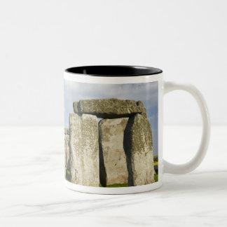 Stonehenge (circa 2500 BC), UNESCO World 3 Two-Tone Coffee Mug
