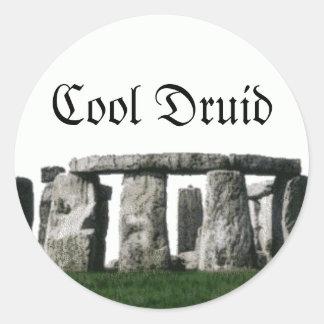 Stonehenge - Cool Druid Round Sticker