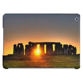 Stonehenge en el amanecer funda para iPad air