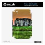Stonehenge en la puesta del sol - sitio antiguo de skin para el iPhone 3G
