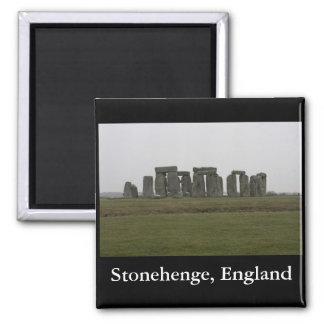 Stonehenge, England 2 Inch Square Magnet