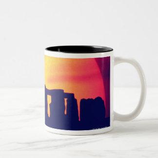 Stonehenge, England 2 Two-Tone Coffee Mug