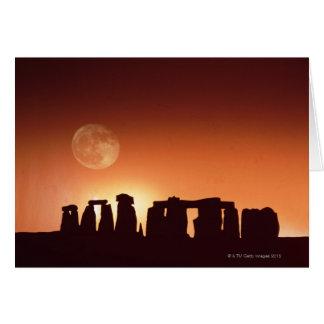 Stonehenge, England 3 Card