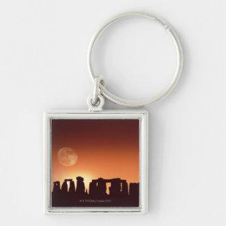 Stonehenge, England 3 Keychain