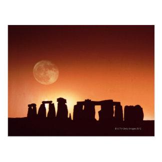 Stonehenge, England 3 Postcard
