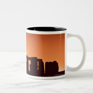 Stonehenge, England 3 Two-Tone Coffee Mug