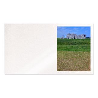Stonehenge England Business Cards