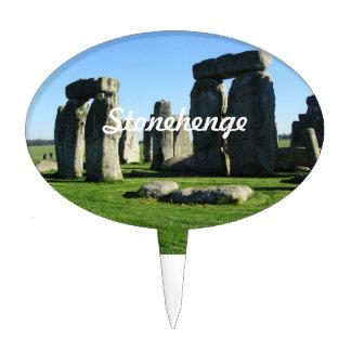Stonehenge England Cake Pick