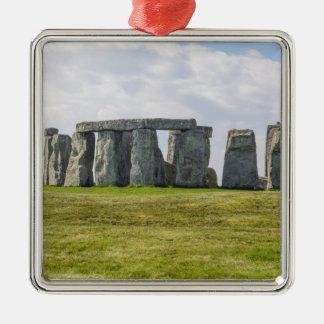 Stonehenge England Metal Ornament