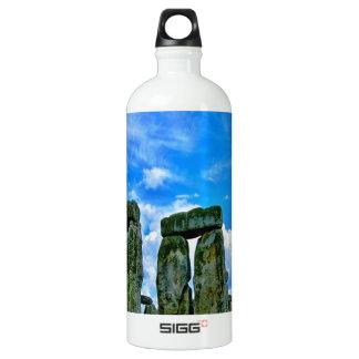 stonehenge england monument stone circle aluminum water bottle