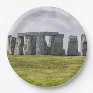 Stonehenge England Paper Plate