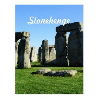 Stonehenge England Postcard