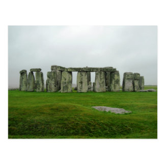 StoneHenge England PreHistoric Monument Wonders Postcards