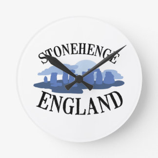 Stonehenge England Round Clock