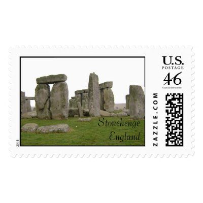Stonehenge, England Stamps by grandmanuttcase