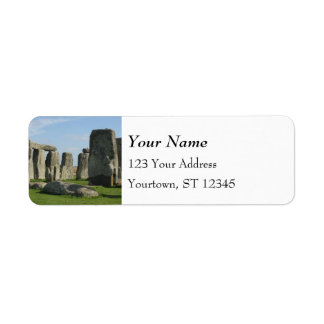 Stonehenge Etiquetas De Remite