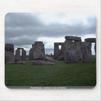 Stonehenge, formación de roca de Inglaterra Alfombrillas De Ratones
