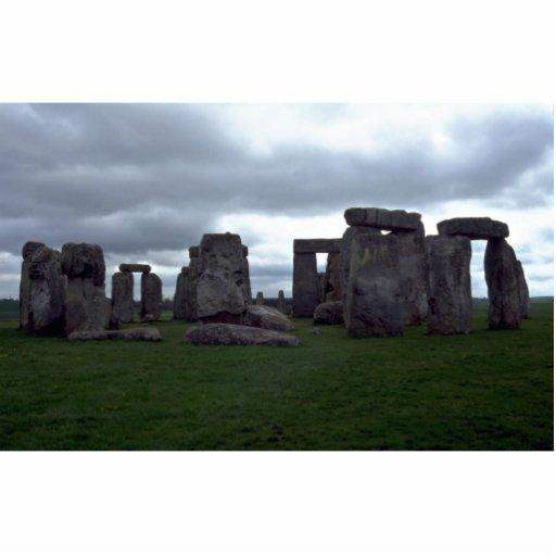 Stonehenge, formación de roca de Inglaterra Fotoescultura Vertical