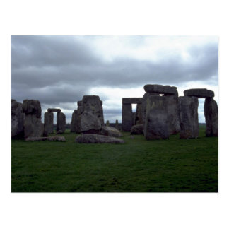 Stonehenge, formación de roca de Inglaterra Tarjetas Postales