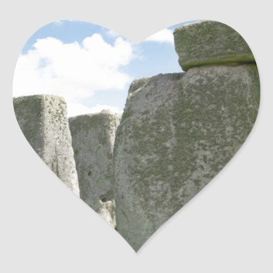 Stonehenge Heart Sticker