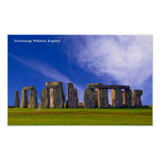 Stonehenge image for poster