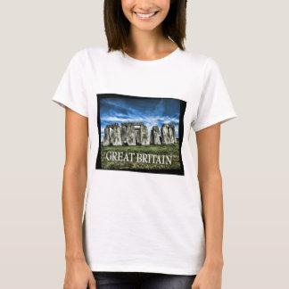Stonehenge Image with  Caption Great Britain T-Shirt
