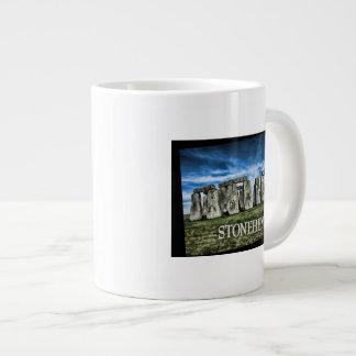 Stonehenge Image with  Caption Stonehenge Giant Coffee Mug