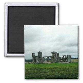 Stonehenge Imán Cuadrado