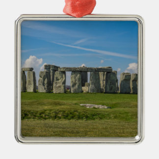 Stonehenge in England Metal Ornament