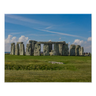 Stonehenge in England Poster