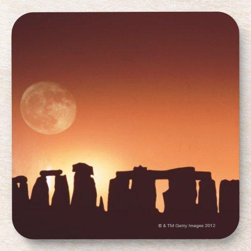 Stonehenge, Inglaterra 3 Posavasos De Bebidas