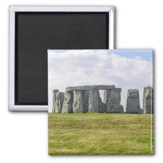 Stonehenge Inglaterra Imán Cuadrado