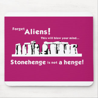Stonehenge is not a henge! Mouse Mat Mouse Pad