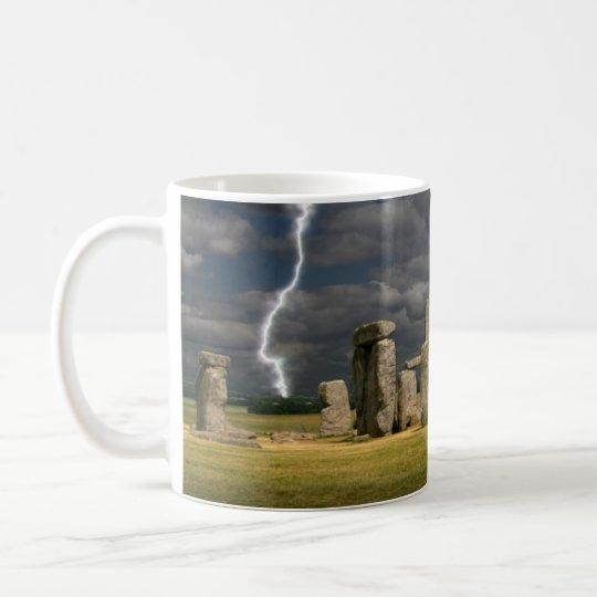 Stonehenge Lightning Coffee Mug