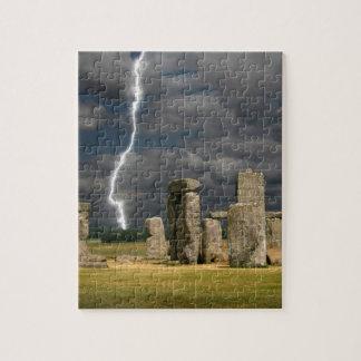 Stonehenge Lightning Jigsaw Puzzles