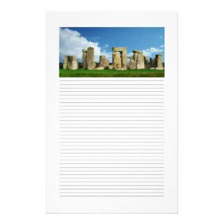 Stonehenge Lined Stationery