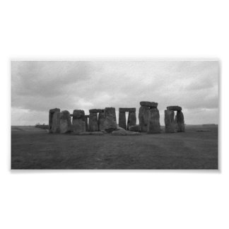 Stonehenge, llano de Salisbury Póster