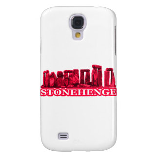 Stonehenge Magenta transp The MUSEUM Zazzle Gifts Galaxy S4 Cover
